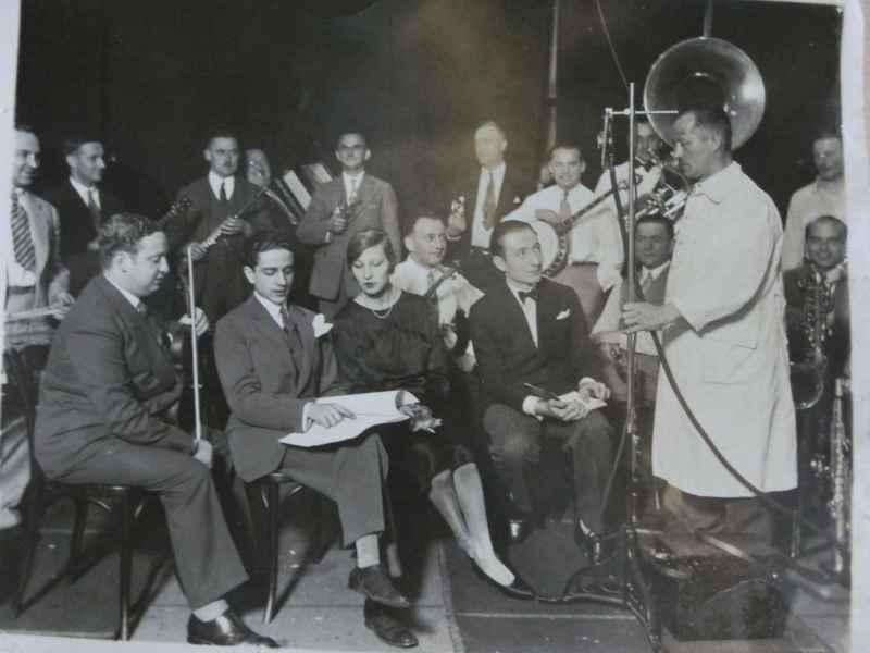 1937Wenn Frauen schweigen - Proben mit Hilde v. Stolz