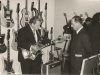 Bild 187 / Apr.62 / Messestand ROGER-EKO in Frankfurt - WR mit EKO-Chef Oliviero Pigini