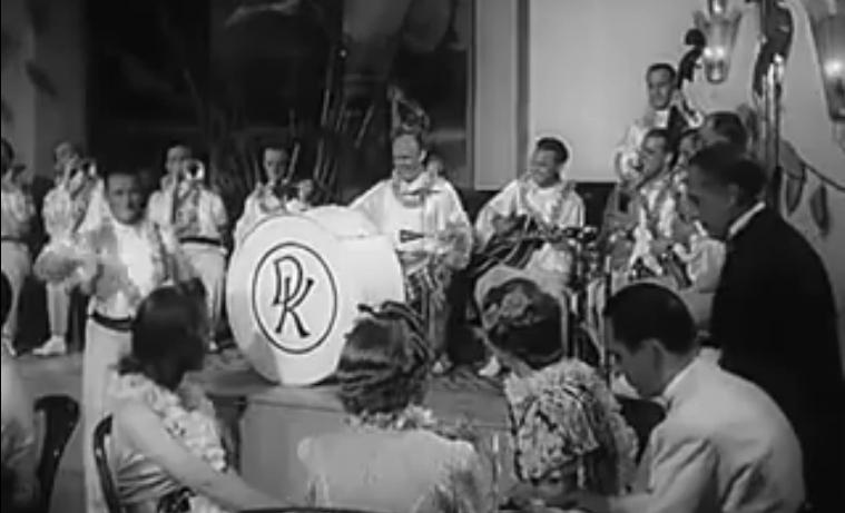 """Bild 033 / 1938 / WR mit Peter Kreuder im Film """"Eine Nacht im Mai"""""""