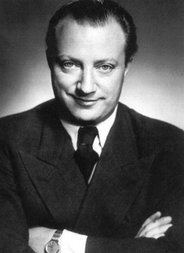 Bild 046 / ca. 1950 / Portrait Peter Kreuder
