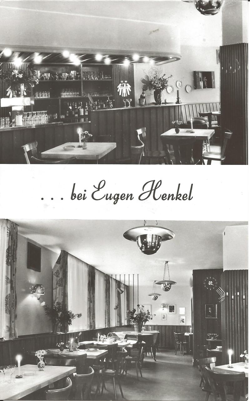 Bild 065 / ca 1959 / Lokal von Musikekollege Eugen Henkel. Saxophonist
