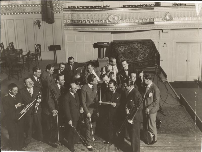 ca1933Orchester Ilja Livschakoff