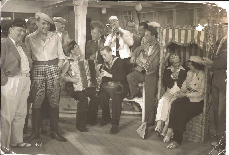 1935Rhythm Boys - von links: Vossen, Rischbeck, Rossmeisl