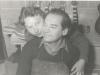 Bild 112 / 1956 / Wenzel und Marianne in der Werkstatt in Mittenwald