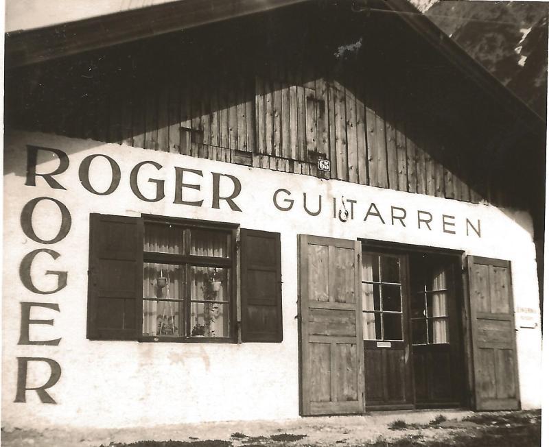 1956ROGER-Werkstatt in Mittenwald im Mühlenweg