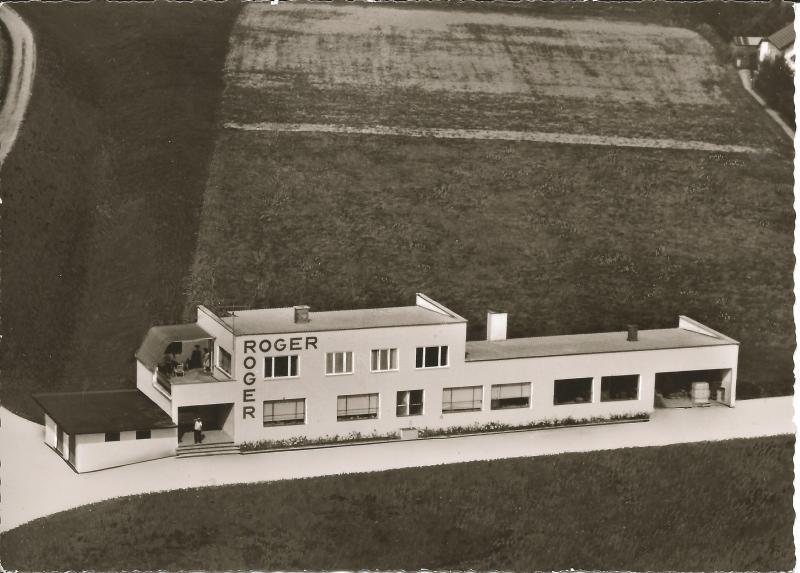 1962Luftaufnahme der ROGER-Fabrik in Neumarkt St. Veit, Werkstraße 2