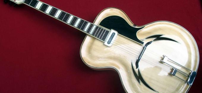 Restauration einer OSBAMA Gitarre
