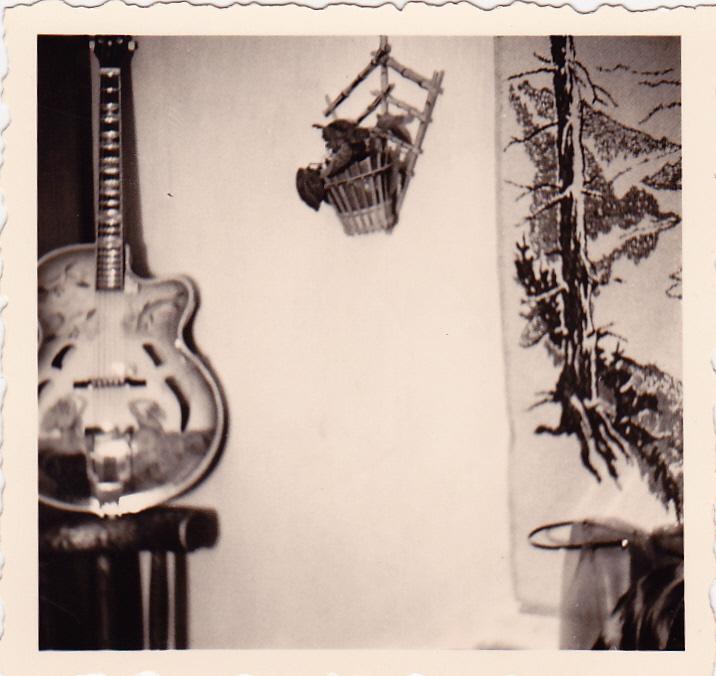 eine besondere Gitarre
