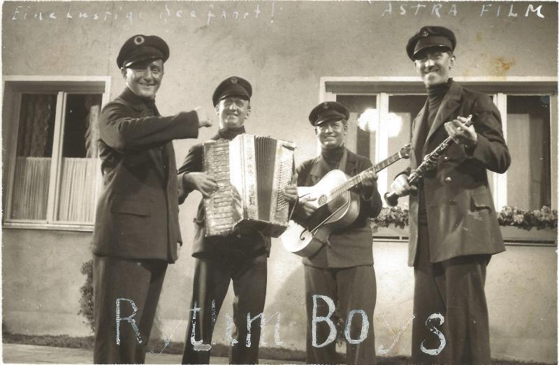 1935Eine Seefahrt die ist lustig - Szene mit den Rhythm Boys