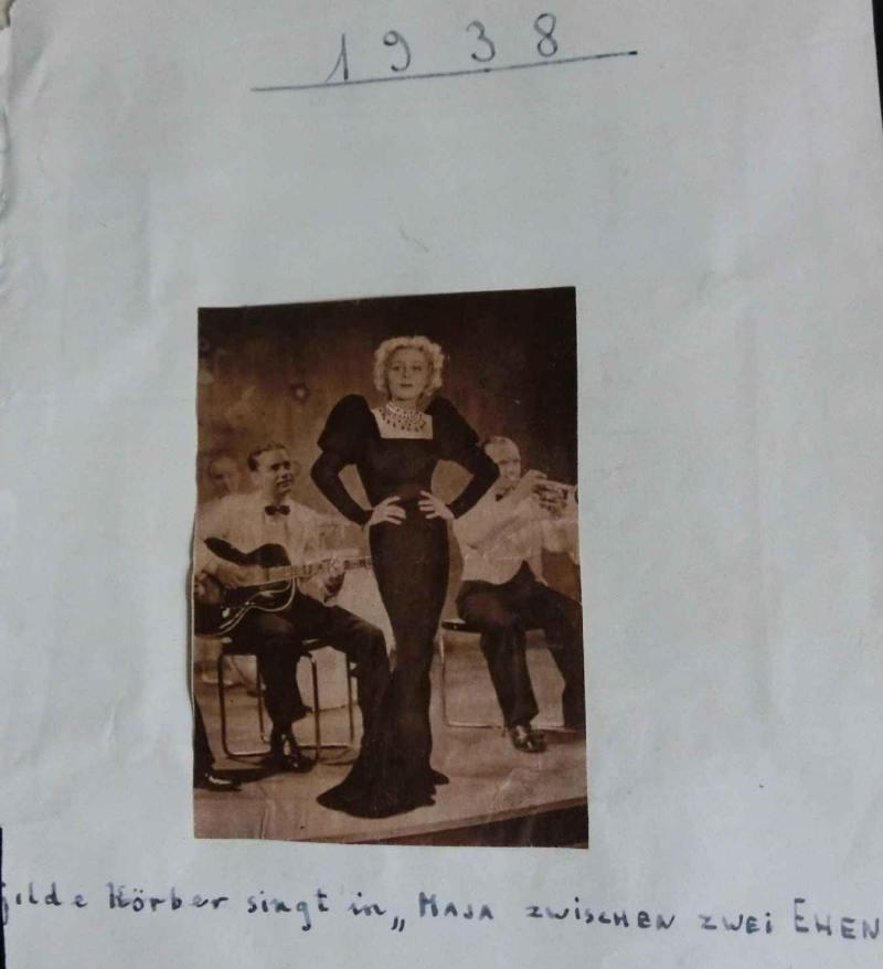 1938Maya zwischen 2 Ehen - WR mit schwarzer ROGER JUNIOR