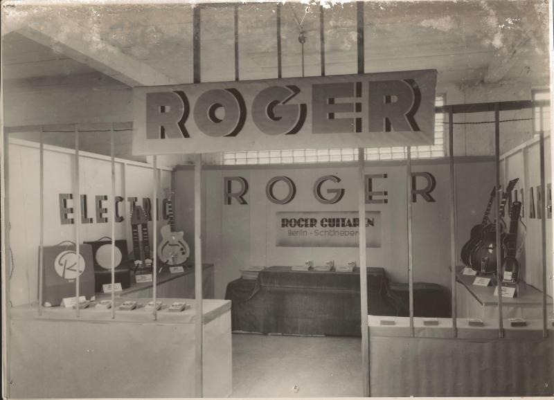 Mrz.501. Leipziger Nachkriegsmesse im Messehaus Petershof - Verstärker von der Fa. Brehmer