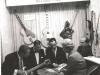 1967Messestand EKO in Frankfurt - Wenzel und Marianne in Verkaufsbesprechung