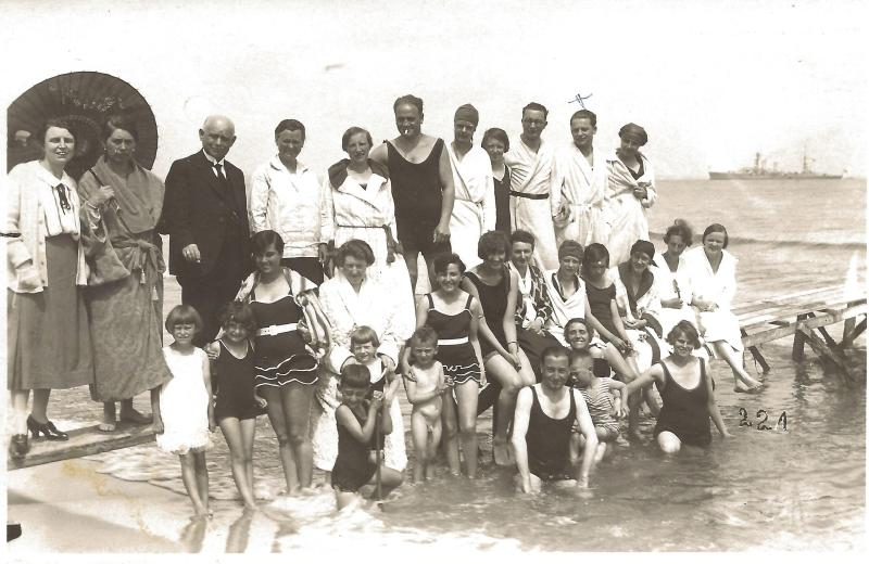 ca1928Am Timmendorfer Strand