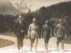 1924Wenzel mit Bandkollegen in der Schweiz