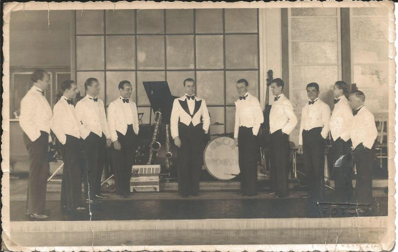Bild 010 / ca. 1926 / Orchester Bonciani, Mailand