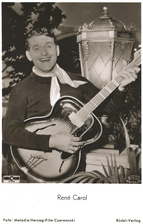 """Bild 050 / 1953 / Rene Carol im Film """"Südliche Nächte"""" mit ROGER JUNIOR"""