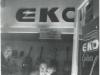 Mai.66Wenzel und Marianne mit Oliviero Pigini im Münchner Ladengeschäft